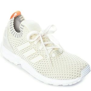 adidas ZX Flux Women's Shoes NEW Chalk/White